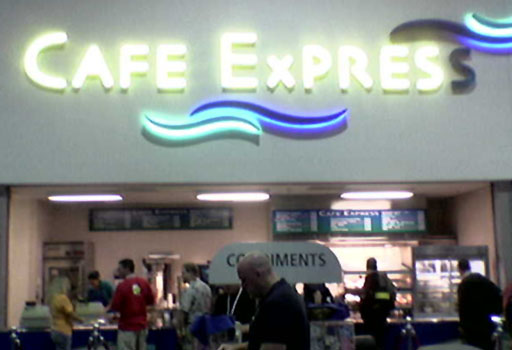 SIGGRAPH 2007 - Cafe Express