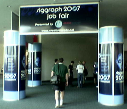 SIGGRAPH 2007 - Job Fair