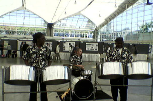 SIGGRAPH 2007 - Steel Drums